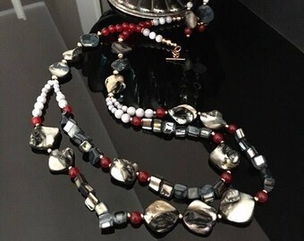 Necklace with Shell beads