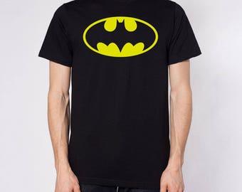 Batman men t shirt different sizes comic fan