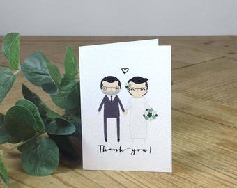 A5 THANK-YOU CARDS X10