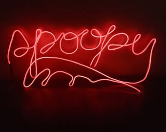 Spoopy / Spooky Halloween Neon Sign