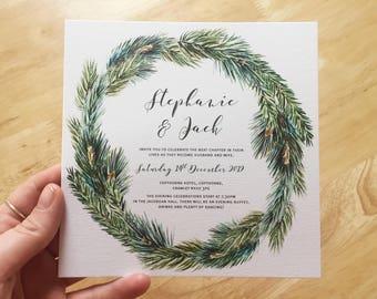 Wedding Invitations _ The Wreath Range