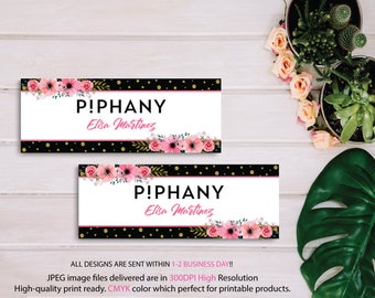 Piphany Facebook Banner, Personalized Facebook Cover, Piphany Photo, Piphany POP-UP, Piphany Sign, PiPhany Marketing- Digital file PP07