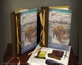 "Personalized hunting book ""boar"""