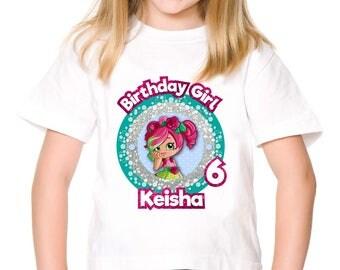 Personalized Shopkins Rosie Bloom Shoppies Tee Shirt Tshirt Shirt Iron On Transfer Shirt Image Printable DIY - Digital File