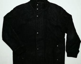 Vintage Blue Label United Arrows Windcheetah Button Up Suede Jacket US L / EU 52-54 / 3