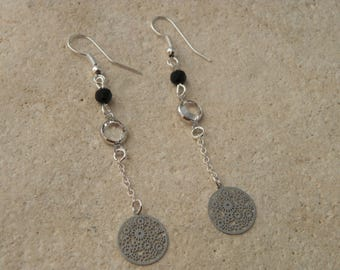 SWAROVSKI Crystal and fine earrings