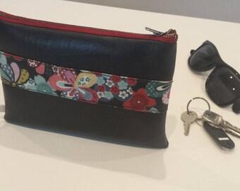 Bag pouch floral