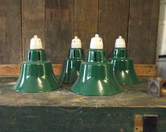 Upcycled Aluminum Incubator Lamps