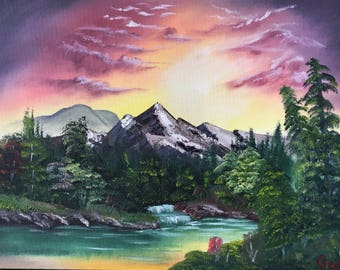 landscape inspired by Mountain brook Kevin Hill