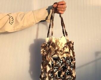 HAND-MADE crochet bag