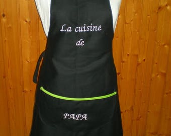 Apron personalized adult - can choose different colors