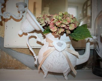 Teapot revisited charm vase
