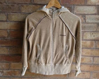 Adidas velour hoodie