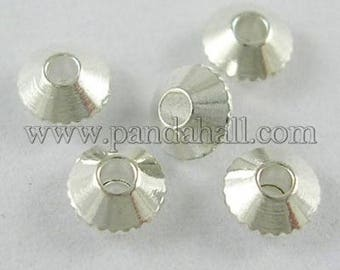Bicone beads (10) spacer beads