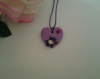heart pendant for romantic girls