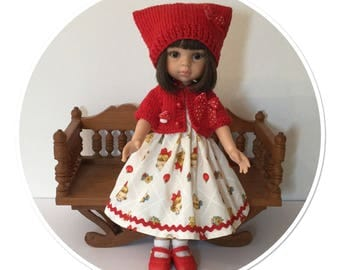 Paola Reina doll clothes dress vintage