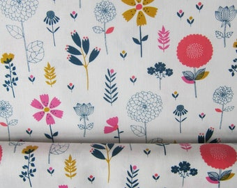 """Cotton candy"" Dashwood fabric flowers gr"
