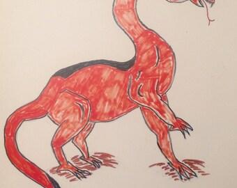Dragon (print)