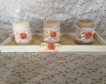 Free shipping! Shabby style candle holder