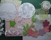 Kit et tutoriel pour carte estivale avec un personnage Magnolia