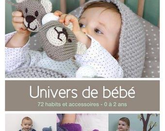Book catalogue universe phildar baby knitting patterns