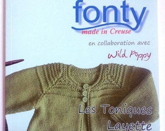 Catalog baby book no. 01 0 to 18 months FONTY brand