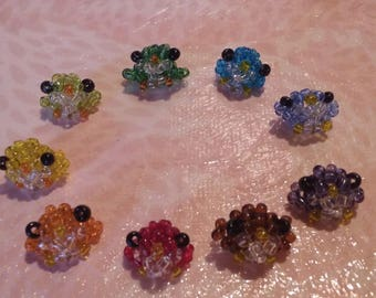 Beaded Rainbow birds