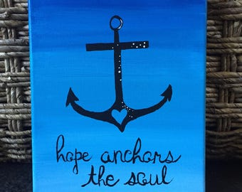 Hope Anchors the Soul Painting