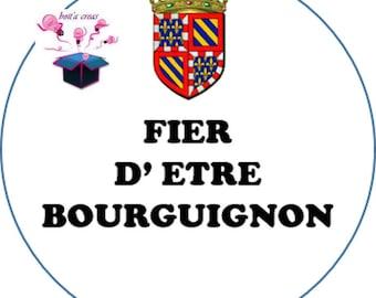 1 cabochon clear 18 mm Burgundy flag theme