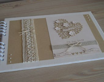 "Guest book ""standard"": for wedding, birthday, baptism..."