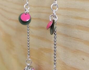 Liberty Capel pink earrings