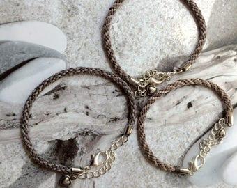 Bracelet kumihimo, tressage japonais