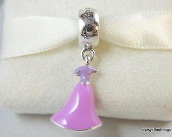 Genuine Pandora Disney Rapunzel's Dress 791819ENMX