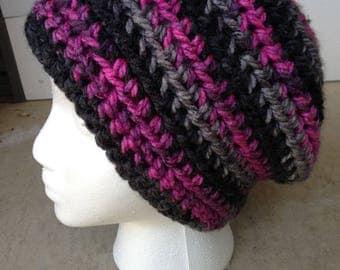 Dark and Pink Women's Hat