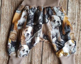 English Bulldog pants size 56-62