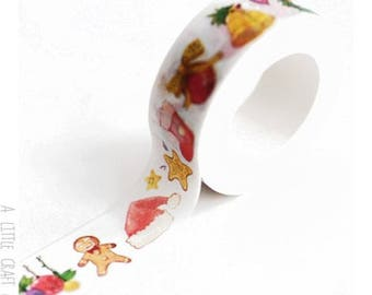 1 roll of washi tape - Christmas kawaii