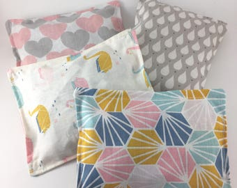 Cushions touch sensory quiet baby - themed PASTEL