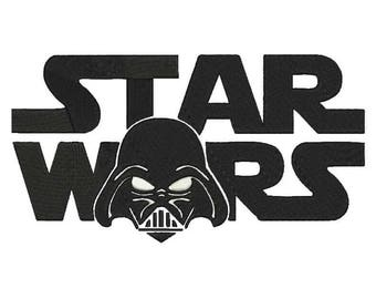 Star Wars Embroidery Design - 4 sizes and 5 formats