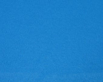 Coupon felt blue 20/30 cm to 1.5 mm thick