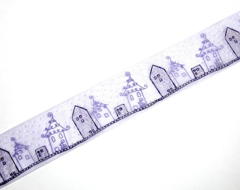 """Ribbon veil """"draw me a home"""" with 30 mm X 50 cm wide"""