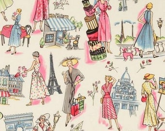 Springtime in Paris Miller patchwork fabric