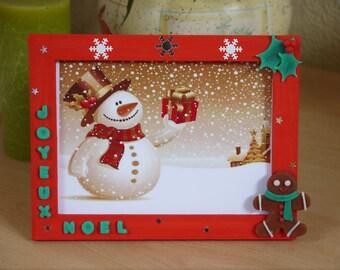 "13 * 18 ""Merry Christmas"" photo frame"