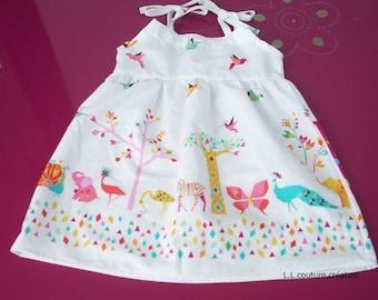 summer dress baby cotton fabric
