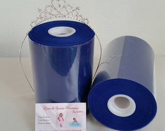 Royal Blue tulle roll, for princess dress, birthday, wedding
