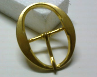 Oval Loop brass passage 3.5 cm * BO132 *.