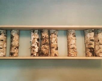 Birch Shelf/Wall Art/Decoration