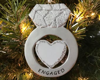 Engaged Ring Ornament
