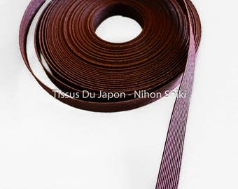 10 meters basketry - paper tape basketry - kraft paper tape - paper weaving basketry - Brown corrugated Kraft TV11