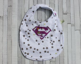 Super, doubled baby bib Terry