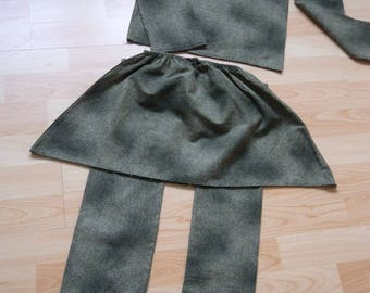 all 3 pieces or Panther girl elasticated skirt